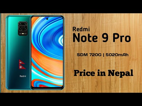 Redmi Note 9 Pro Review Price In Nepal Sdm 720g 5020mah The Real Pro Smartphone Youtube
