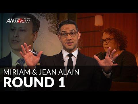 Procurador Jean Alain Rodríguez Cuestiona A Jueza Miriam Germán - ROUND 1 - #Antinoti Marzo 06, 2019