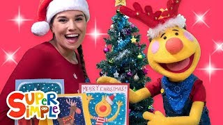 We Wish You A Merry Christmas | Sing Along With Tobee | Kids Songs