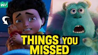 MONSTERS AT WORK Ep 1 BREAKDOWN! Pixar Easter Eggs + Details You Missed