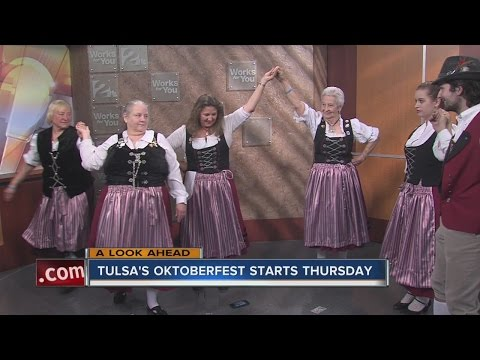 Oktoberfest Dancers Stop By 2 Works For You