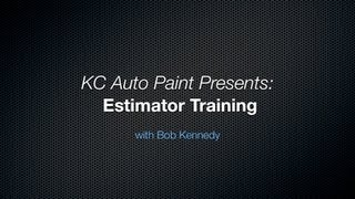 Body Shop Estimator Training