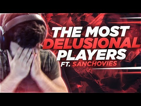 Yassuo | THESE ARE THE MOST DELUSIONAL PLAYERS I'VE EVER SEEN!!! Ft. Sanchovies