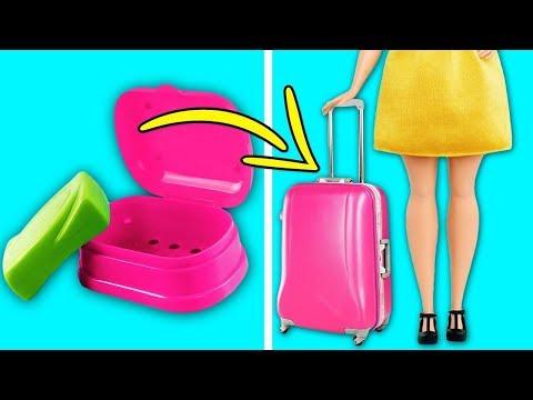 Видео как сделать куклами вещи