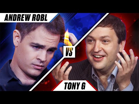MAN VS COMPUTER - Tony G vs Andrew Robl ♠️ Poker Rivals ♠️ PokerStars