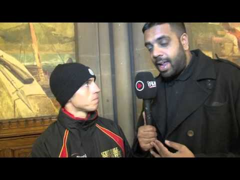 SCOTT QUIGG INTERVIEW FOR iFILM LONDON / QUIGG v MUNROE WEIGH-IN