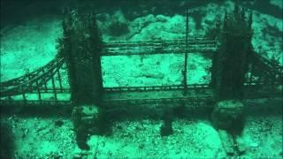 Дайвинг - подводный музей, Тарханкут, мыс Атлеш, Крым ( аллея вождей)