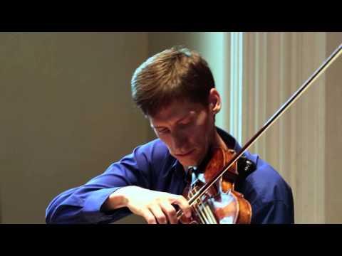 Adaskin: Sonatine Baroque - 2nd movement. Karl Stobbe, Violin
