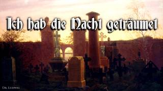 Ich hab die Nacht geträumet ✠ [German folk song][+ english translation]