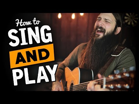 Play Guitar & Sing at the Same Time (in 3 Easy Steps)
