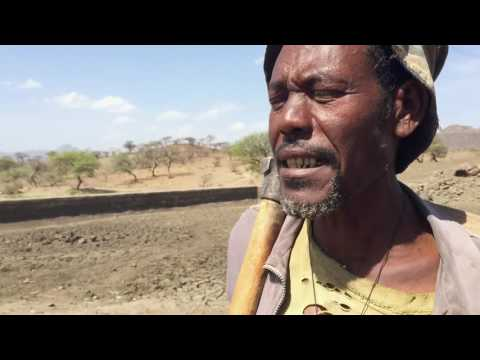 """Thumbnail for video """"Ethiopia drought - Water harvesting """""""