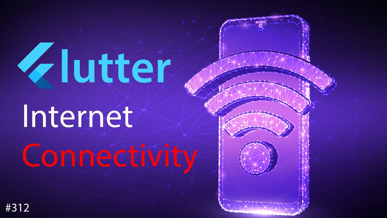 Flutter Tutorial - How To Check Internet Connectivity in Flutter [2021] Wifi & Mobile