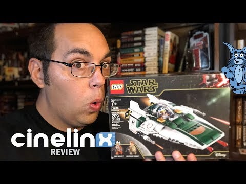LEGO Star Wars: The Rise of Skywalker A-Wing Build/Review