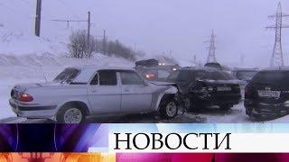 В Ставрополе введен режим чрезвычайной ситуации в связи с ураганным ветром.