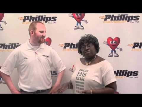 Andrea Powell Testimonial  Phillips Chevrolet