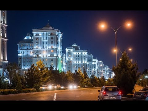 Ashgabat - Walk around the City
