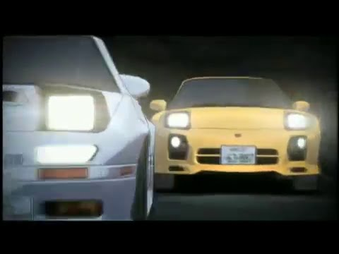 Initial D Opening 4-1 : m.o.v.e - Outsoar The Rainbow