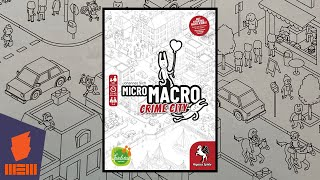 MicroMacro: Crime City — Fun & Board Games w/ WEM