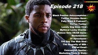 Ask the Black Panther Cast & Beware AI Apocalypse- Beyond Social Media Show # 218