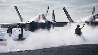 Navy Achieves New F-35 Fighter Jet Milestone on USS Carl Vinson