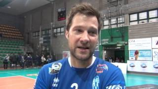 13-12-2015: #A2MVolley Matej Cernic nel post Materdomini-Alessano 3-1