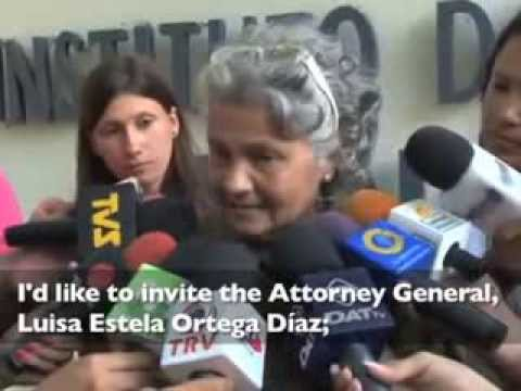 A Mother Whose Son is Tortured in Venezuela Pleads for Justice.