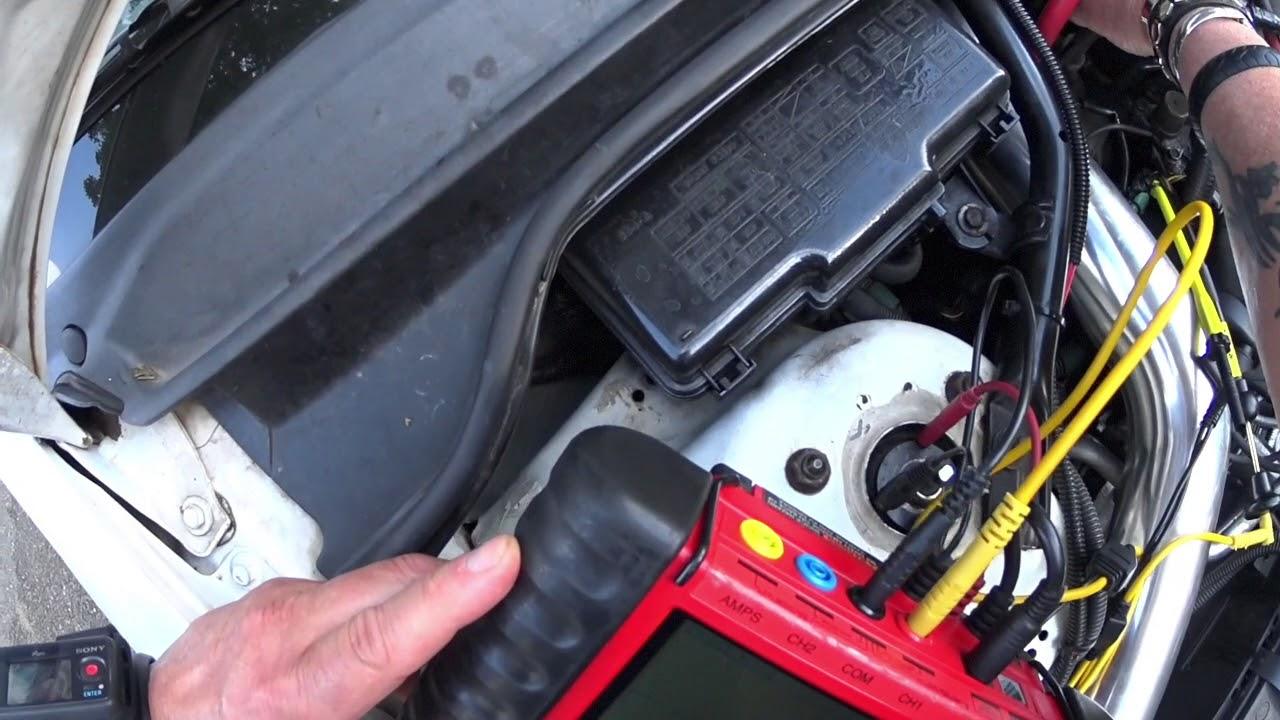 Dtc P1381 On 1999 Honda Accord 23l Vtec Youtube 96 98 Obd2a Wiring Diagram