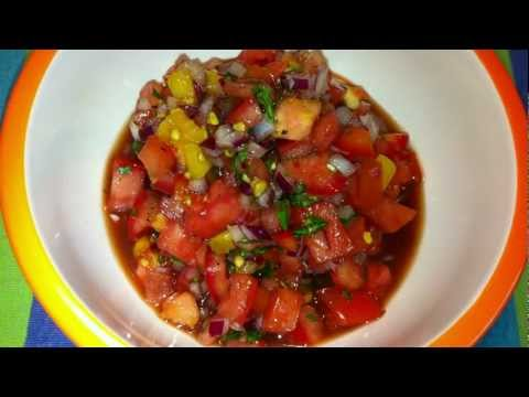 Fast and Easy Salsa Recipe