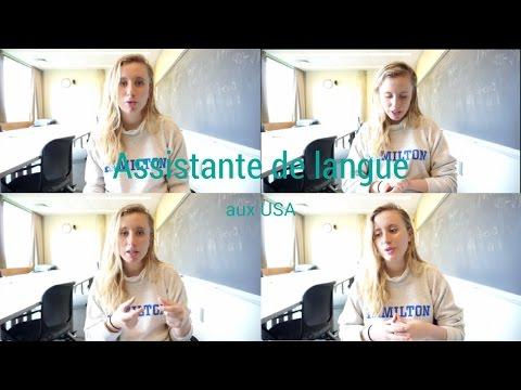 Assistante de langue aux USA /USA Year abroad series