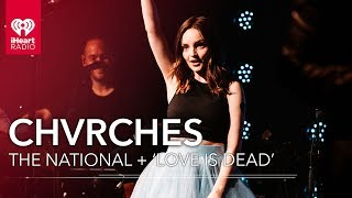 CHVRCHES Working With The National On 'Love Is Dead' | iHeartRadio Album Release Party