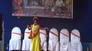 Rabindra Nritya Darun o agni bane re by Saheli Mondal