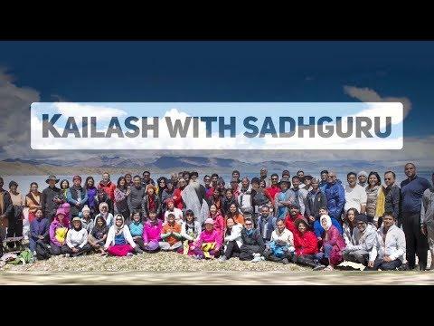 Kailash Manasarovar with Sadhguru 2017