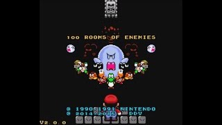 100 Rooms of Enemies (SNES) - Longplay