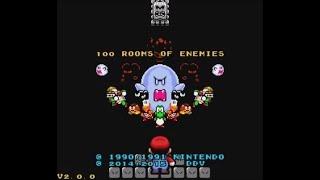 100 Rooms of Enemies (SNES) - Longplay