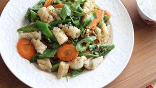 Muc Xao Ot Xanh (squid Stir-fry Green Chili Pepper)