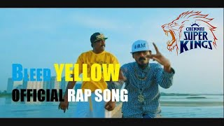 Cover images 2019 VIVO IPL (Official Music Video) Csk Rap - Bleed Yellow - Bmac | Hyde Karty | Starsports