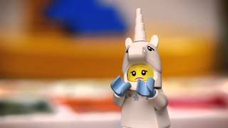 How to Make a Sad Unicorn Girl Smile - LEGO Minifigures