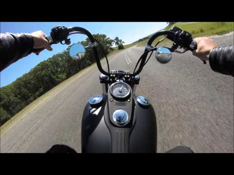 Harley Street Bob SPEED RUN