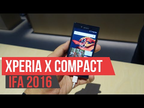 Sony Xperia X Compact - Hands on IFA 2016