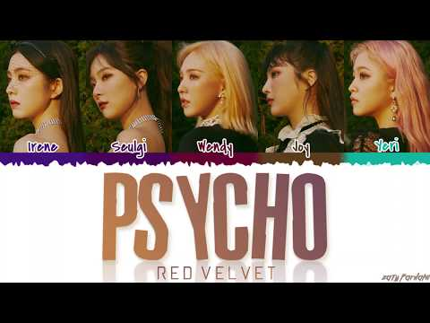 RED VELVET (레드벨벳) - 'PSYCHO' Lyrics [Color Coded_Han_Rom_Eng]