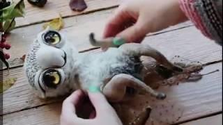 Як красиво упакувати іграшку — Огляд інтер'єрної ляльки «Моль» від Дарина Арт