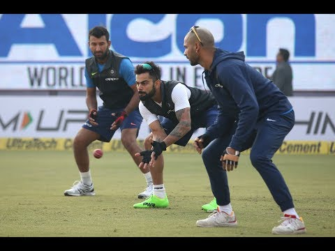 India get down to business ahead of Cape Town Test vs South Africa