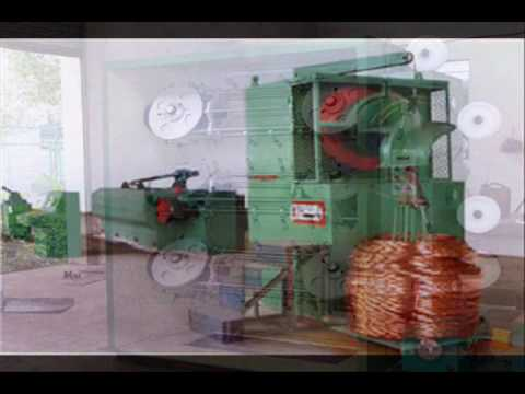 copper wire drawing machine - YouTube