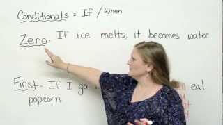 Conditionals – zero & first conditionals (English Grammar)