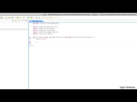 Hello Android (Android Hello World Tutorial) 1.1