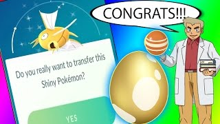WHAT HAPPENS IF YOU TRANSFER SHINY MAGIKARP??? THE GOLDEN MISTAKE  in Pokemon Go