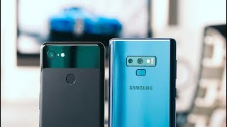 The BEST Android Smartphone Camera? - Pixel 3 XL vs Galaxy Note 9