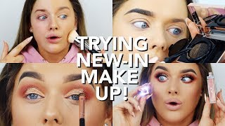 trying new in make up huda foundation eye brow cushions   rachel leary
