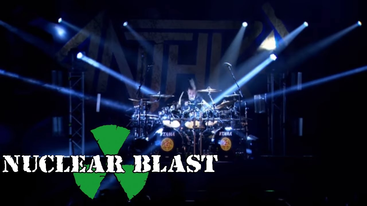 ANTHRAX - Indians  OFFICIAL LIVE CLIP