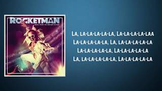 Taron Egerton - Crocodile Rock (Lyrics)